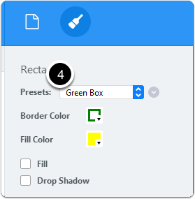 Annotation preset created
