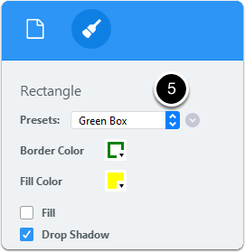 Annotation preset updated