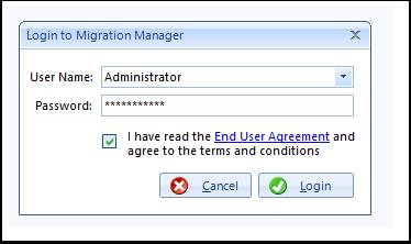 Login as Administrator