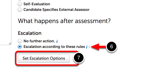 Step 4: Edit Escalation Options