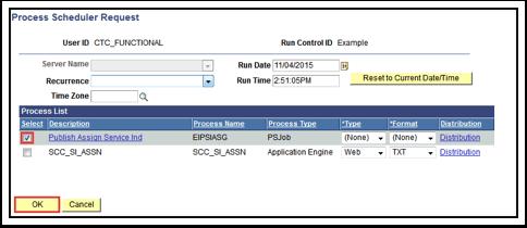 Process Scheduler Request