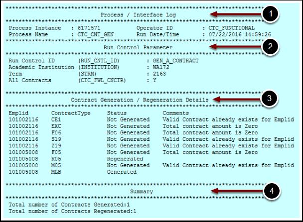 Process Interface Log