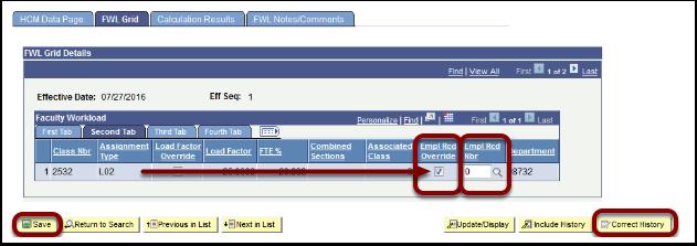 FWL Grid Details