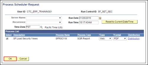 Process Scheduler Requst