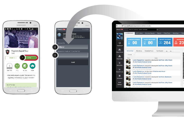 Installing Mobile Application: Add Your URL