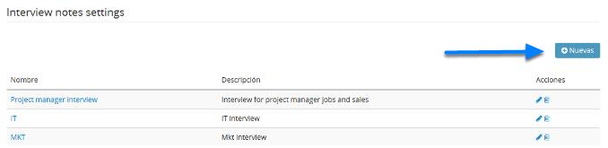 Crea Notas de Entrevista