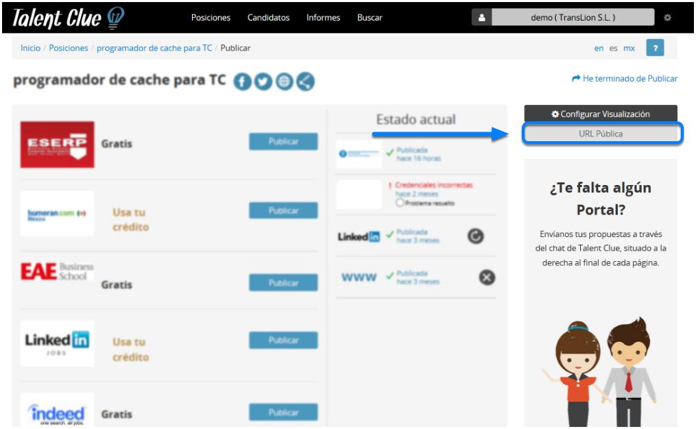 URL Pública