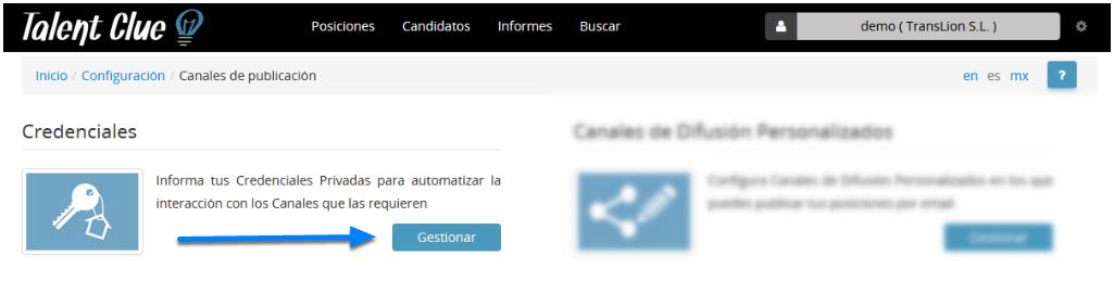Credenciales (usuario y contraseña)