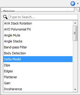Create a Delta Model process