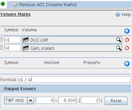 Use Volume Maths to remove AGC