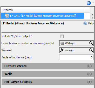 Define settings for GHID model