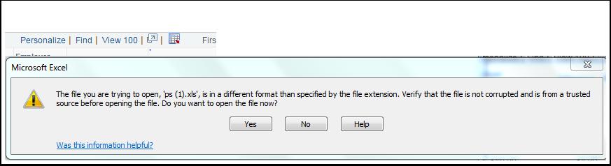 Excel download example