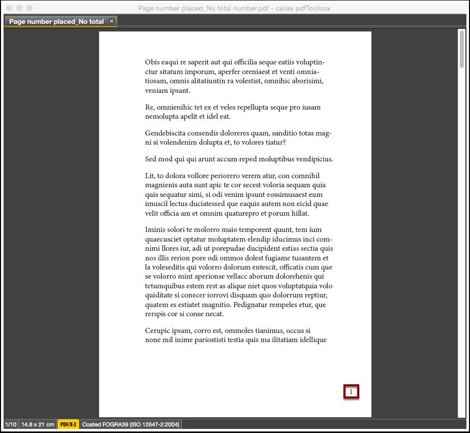 The processed PDF file