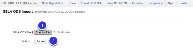 Import SELA ODS Data