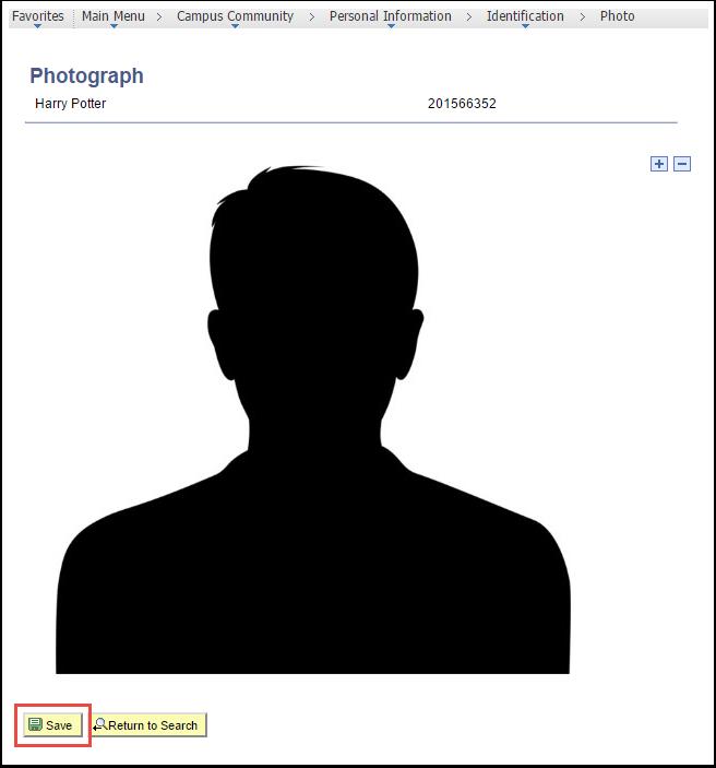 Photograph page - Sample photo