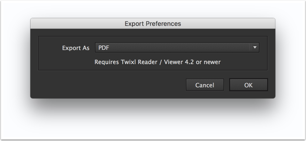 Export as PDF or JPG
