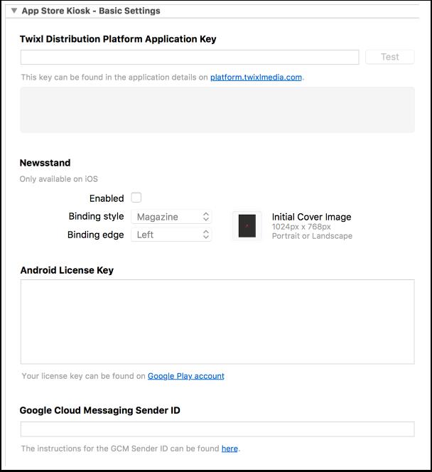 8. App Store Kiosk - Basic Settings