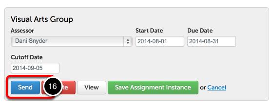 Step 5: Send Assignment