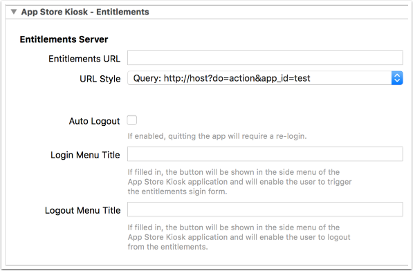 Build settings in the Twixl Publisher OS X app