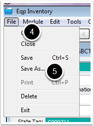 Eqp Inventory File Dropdown