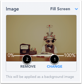 Change or Remove Image