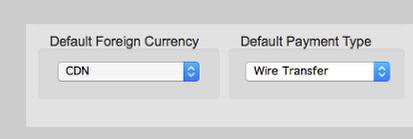 Identification & Default Checks and Voucher Accounts