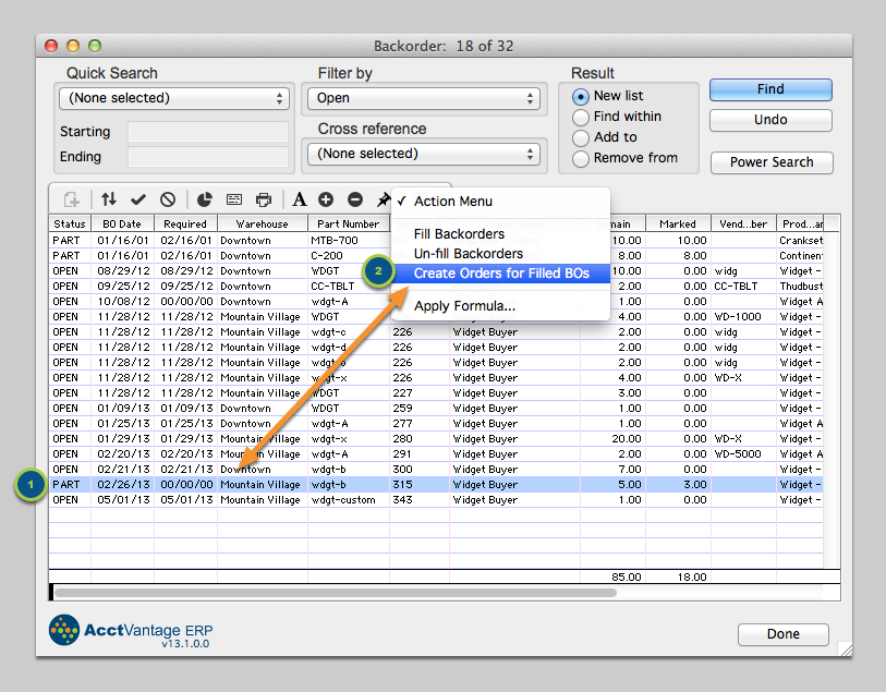 Generate a new Order for Fulfillment and Invoicing