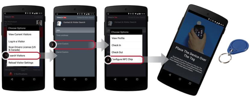 Configure NFC Keychain