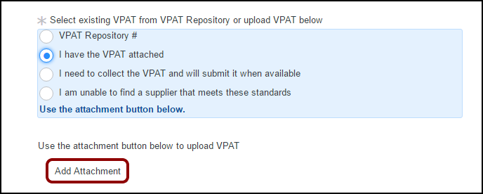VPAT attached info