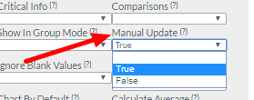 Now a Profile field can be set to be updated in the same manner as Linked Event Field, via the Manual Update feature in the Advanced Field Properties