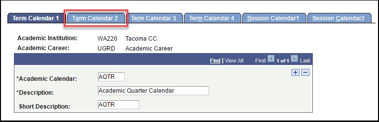 Term Calendar 2