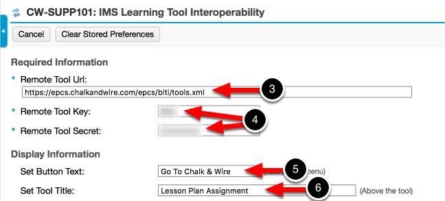 Step 2: Configure the External Tool