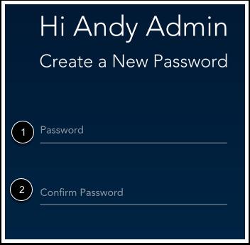 Créer nouveau mot de passe