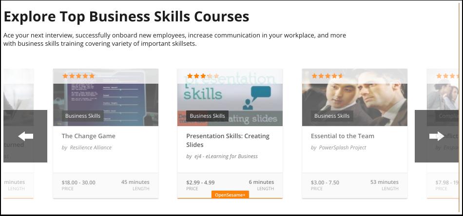 Voir les cours recommandés