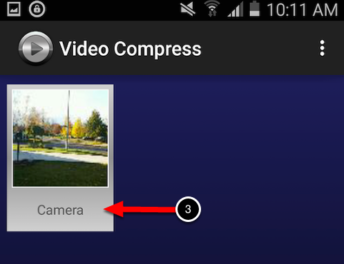 Step 2. Select Video