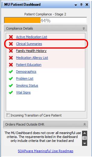 4. Print a Clinical Summary