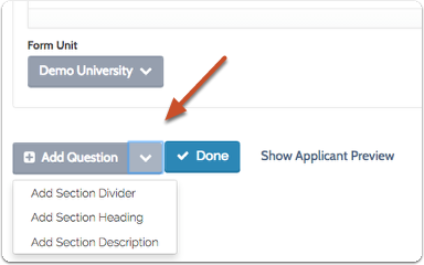 Customize and preview how your form will appear to candidates