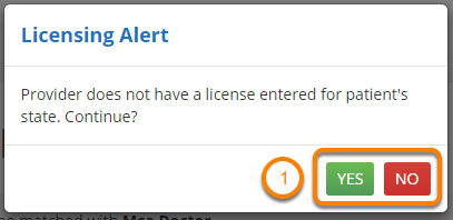 Licensing Alert
