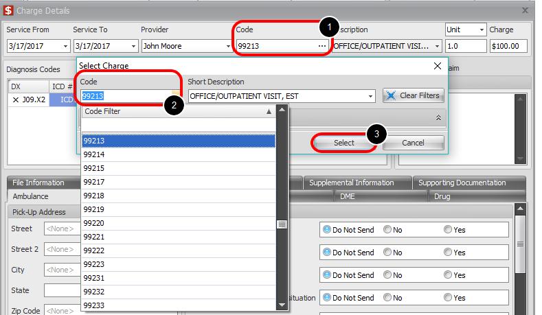 4. Edit Procedure Code
