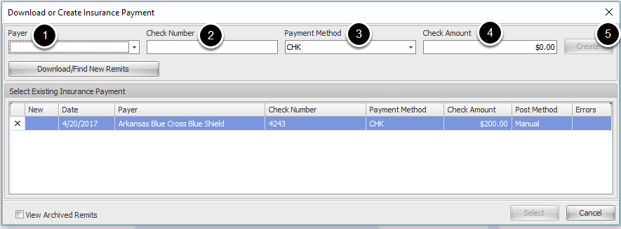 2. Create/Load Payment
