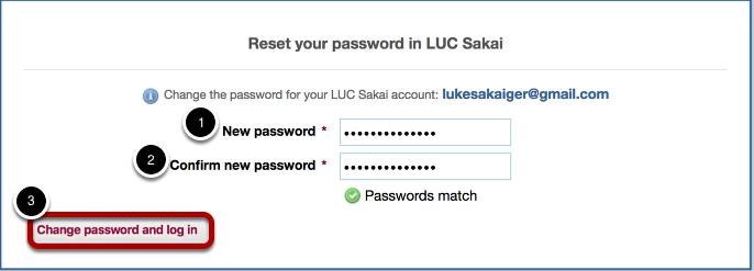 Reset Password.