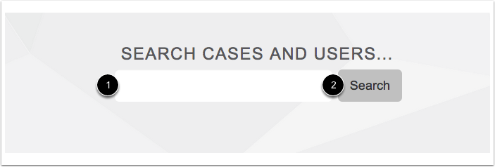 Search for a Case
