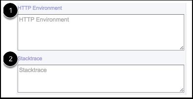Ver el entorno HTTP y la traza de ejecución