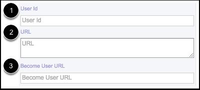 Ver Identificación de usuario, URL y Convertirse en la URL del usuario