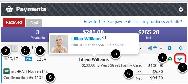 - Payment Details