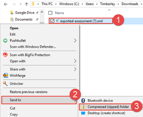 Create ZIP File for PC Users