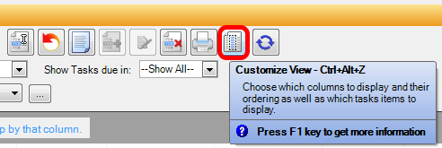 Customize Task View