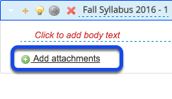 Add an attachment to this Syllabus item. (Optional)