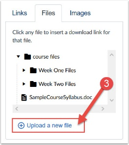 click upload new file