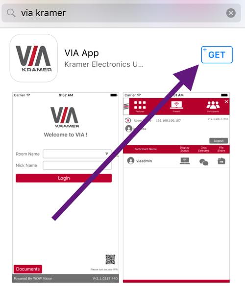 Download VIA Kramer